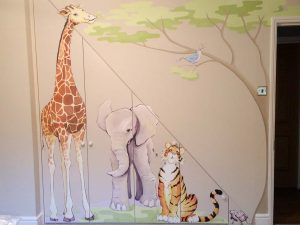 Hand Painted Nursery Murals Bespoke Mural Art For Nurseries Uk